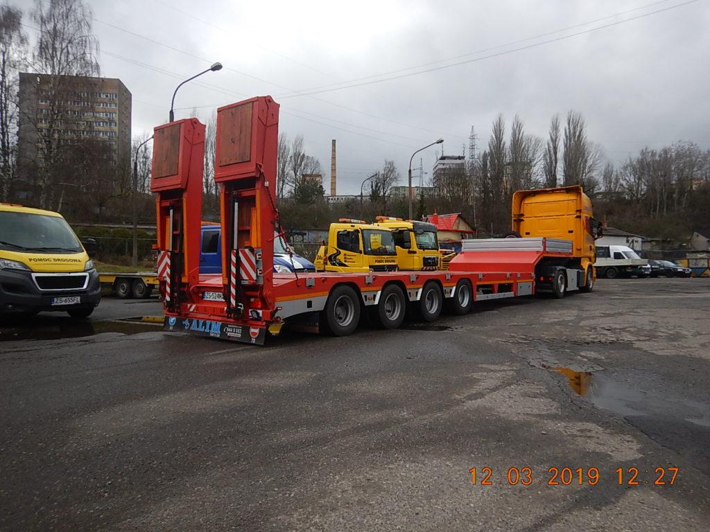 Przewóz ciężkich ładunków